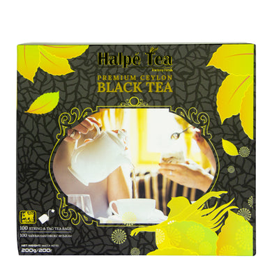 Halpe Pure Ceylon Black Tea 100 Teabags