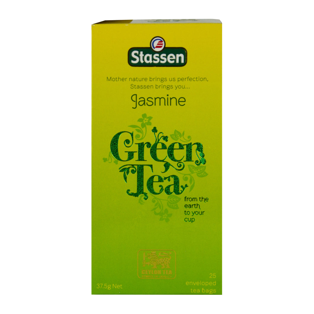Stassen Jasmine Green Tea 25 enveloped tea bags
