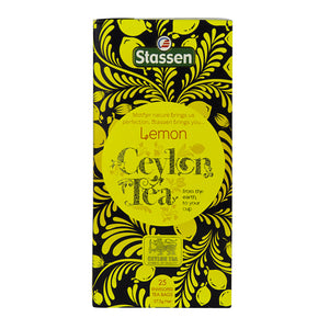 Stassen Lemon Tea 25 enveloped tea bags