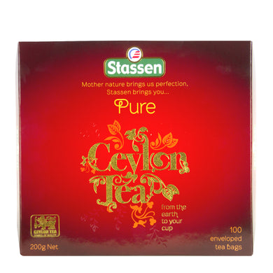 Stassen Pure Ceylon Black Tea buy from Ceylon Tea Store