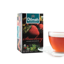 Dilmah Strawberry flavoured tea 20 teabags | Ceylon Tea Store