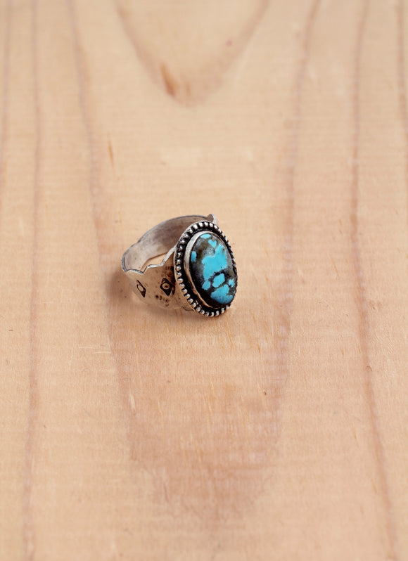 Barstow Turquoise Cigar Ring
