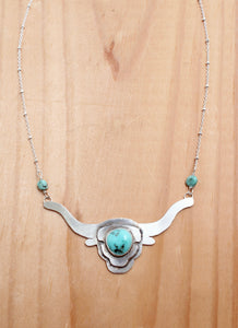 Steer Necklace