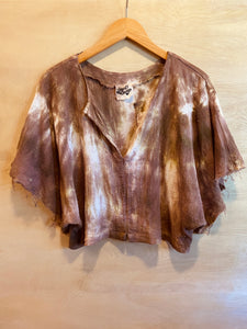 Alliene Boxy Top- Clay
