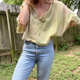 Alliene Boxy Top- Margarita