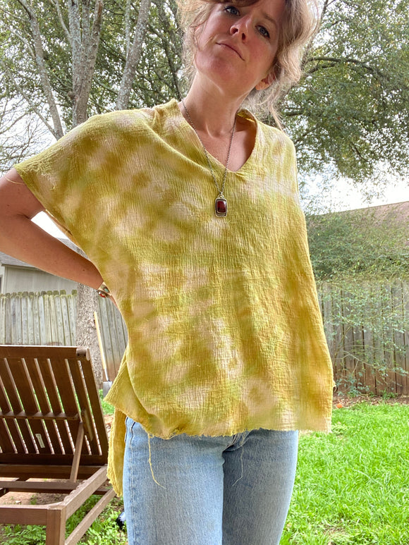 Buzzy Tunic- Chartreuse