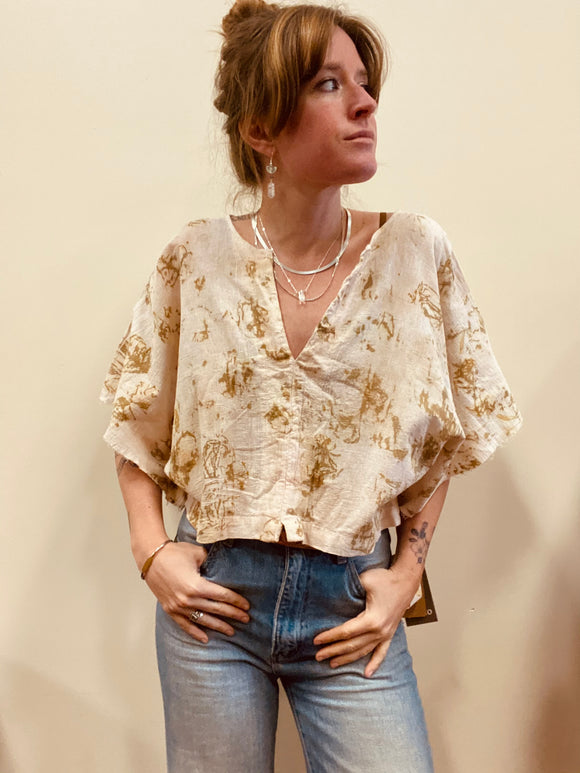 Alliene Boxy Top- SS3