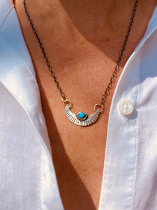 Turquoise Eclipse Necklace