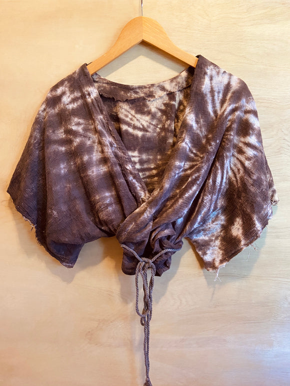 Sugaree Top- Truffle Brown