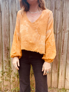 Maybelle Top- Burnt Orange
