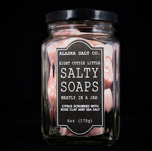 Alaska Salt Co. Rose Clay Soap