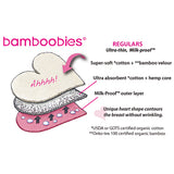bamboobies Regular Nursing Pads - 2 pairs