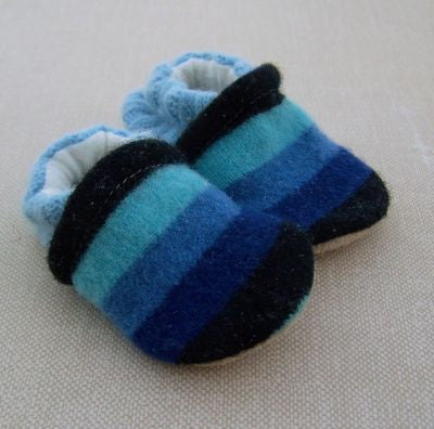 Snow and Arrow Wool Slippers - Size 0-3m
