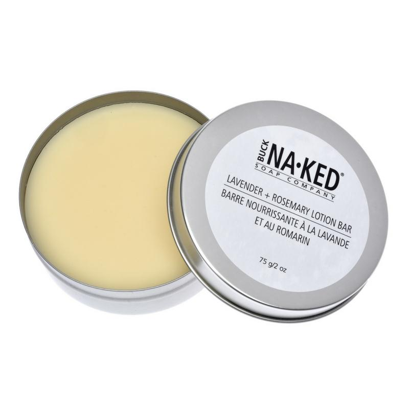 All-Natural Lotion Bar: Lavender + Rosemary 57g/2oz