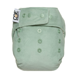 GroVia Buttah O.N.E. Cloth Diaper - Glacier