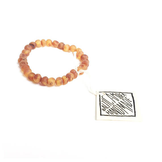 CanyonLeaf Baltic Amber Adult Bracelet - 7 inches