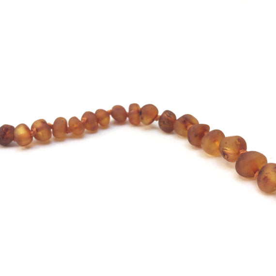 CanyonLeaf Raw Baltic Amber Necklace - 11 inches
