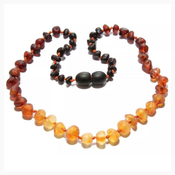 CanyonLeaf Raw Baltic Amber Necklace - 13 inches
