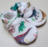 Snow and Arrow Cotton Knit Slippers - Size 3-6m
