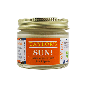 Elevated SUN! Natural Sunscreen