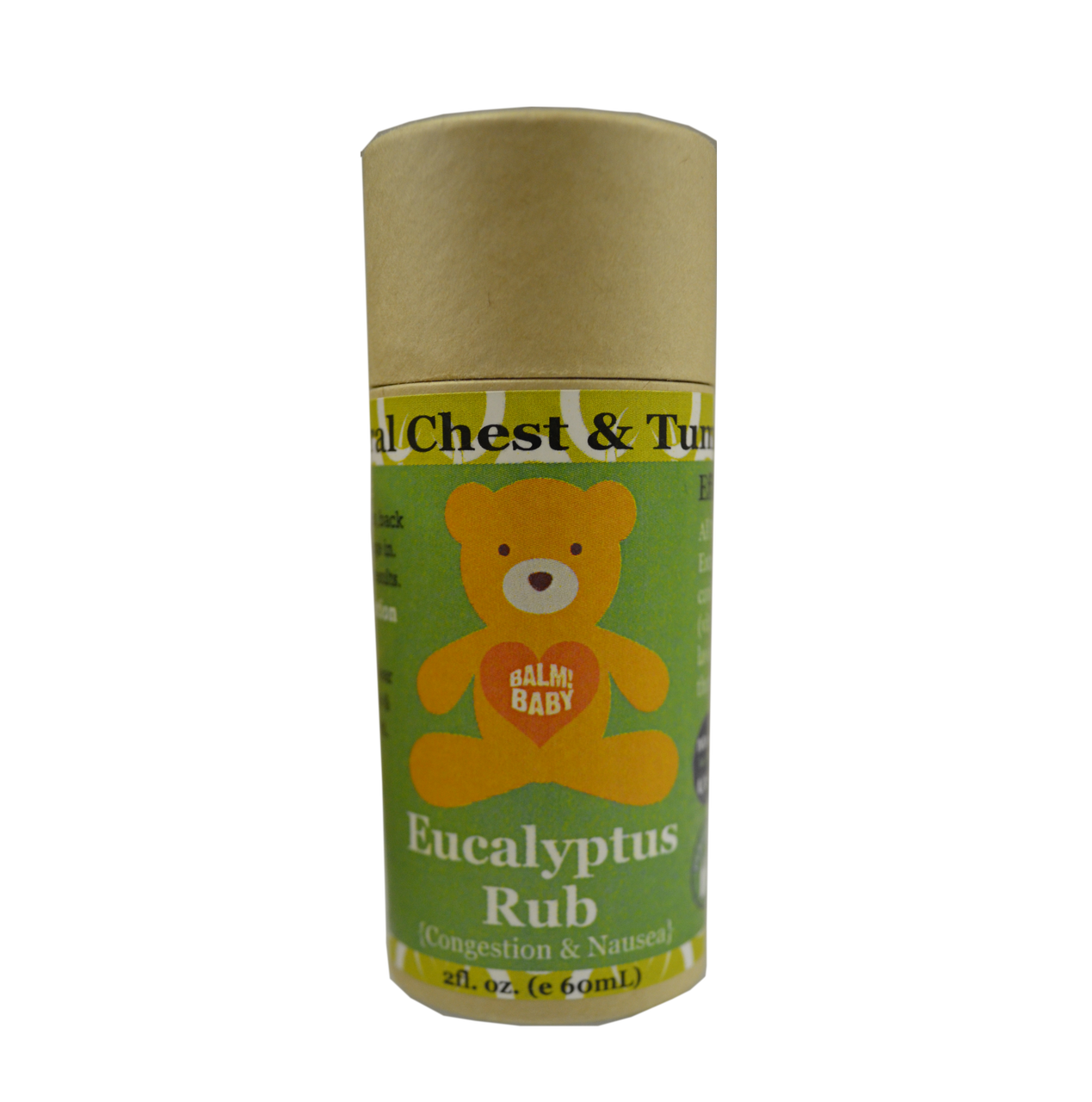 BALM! Baby Clearing Rub - Natural Chest and Tummy Aid