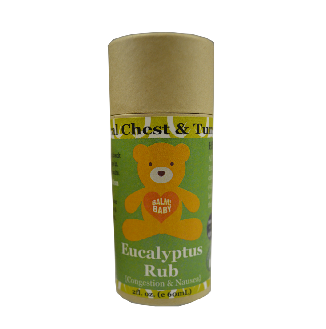 BALM! Baby Eucalyptus Rub - Natural Chest and Tummy Aid