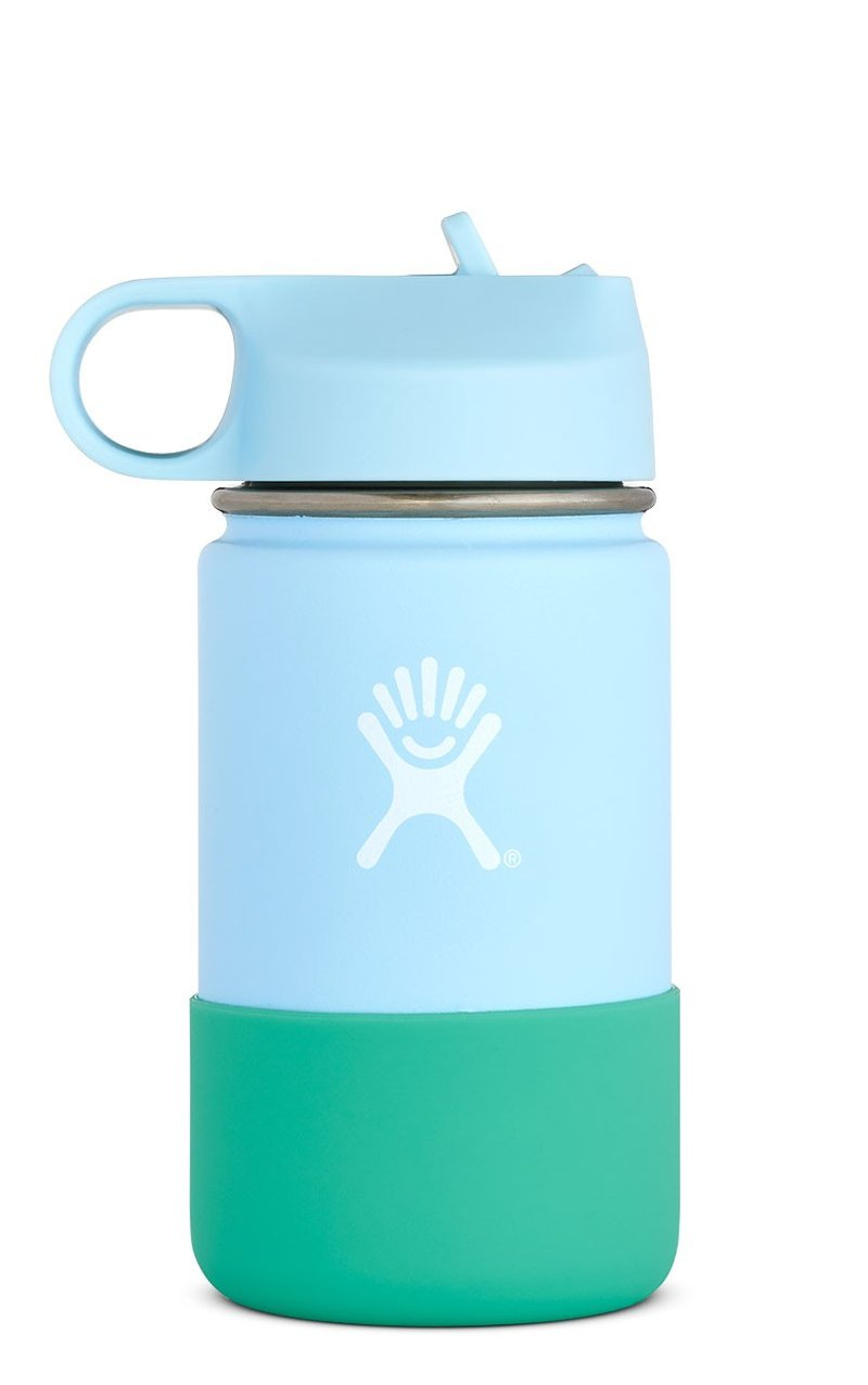 Hydro Flask 12 oz Kids Wide Mouth w/ Straw Lid - Frost