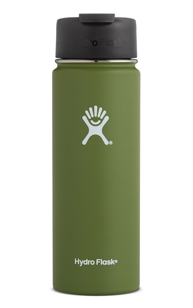 Hydro Flask 20 oz Wide Mouth w/ Flip Lid - Olive