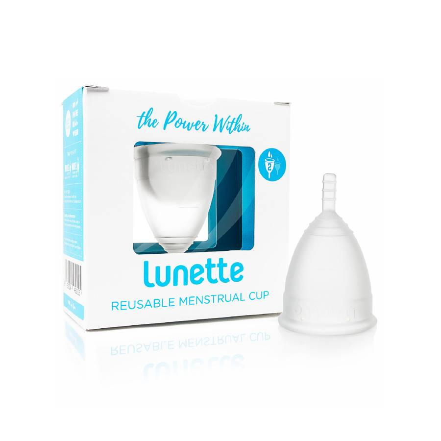 Lunette Menstrual Cup - Clear