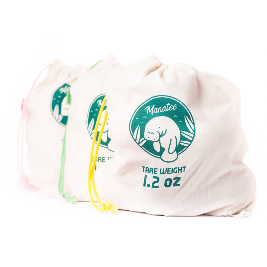 Manatee Produce Bags - 3 Pack
