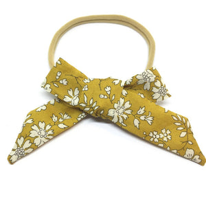 The Tiny Bow Shop Floral Classic Headband