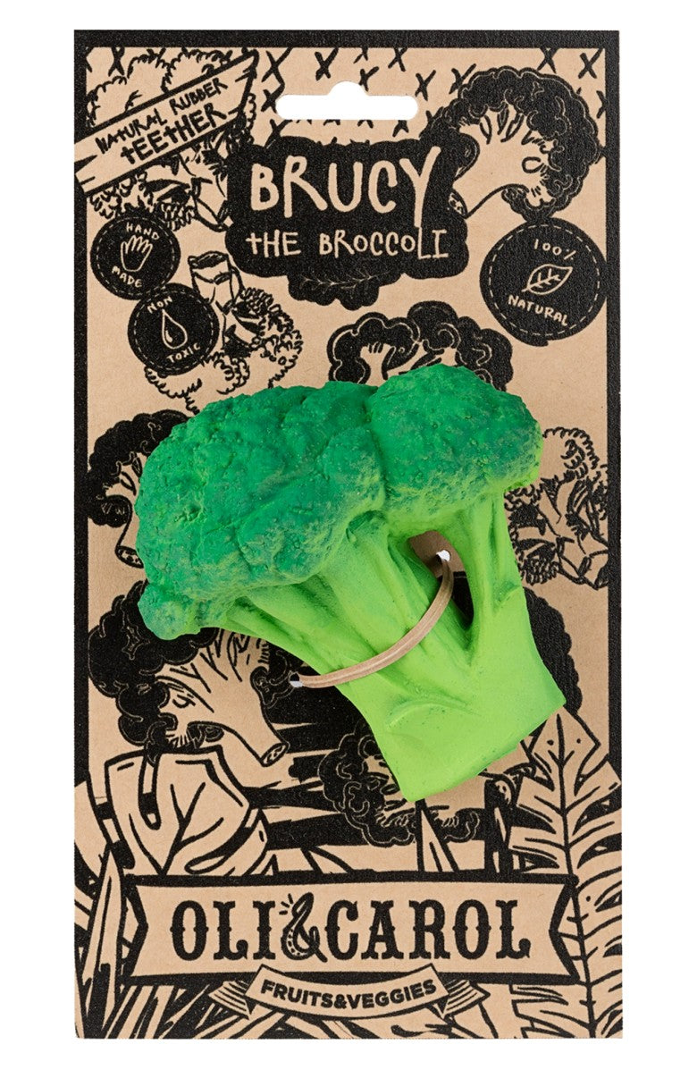 Oli & Carol Brucy the Broccoli Teether