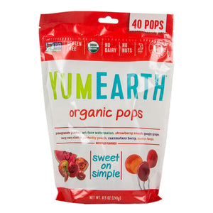 Yum Earth Organic Assorted Flavor Lollipops