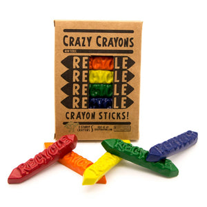 Recycle Sticks Crayon 8 Pack