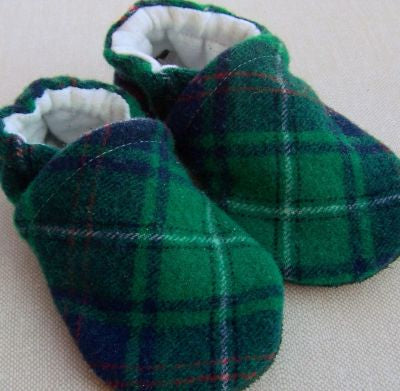 Snow and Arrow Wool Slippers - Size 6-12m