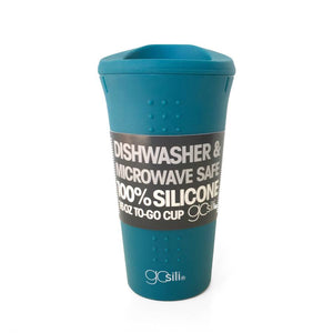 GoSili Silicone Travel Mug - 16 oz - Teal