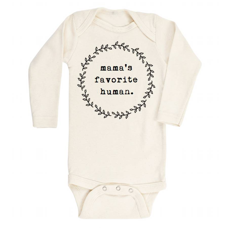 Tenth and Pine Mama's Favorite Human Bodysuit