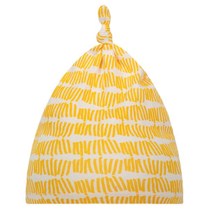 The Fresh Baby Knotted Hat - Marigold Tally