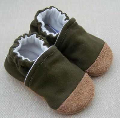 Snow and Arrow Cotton Knit Slippers - Size 3T