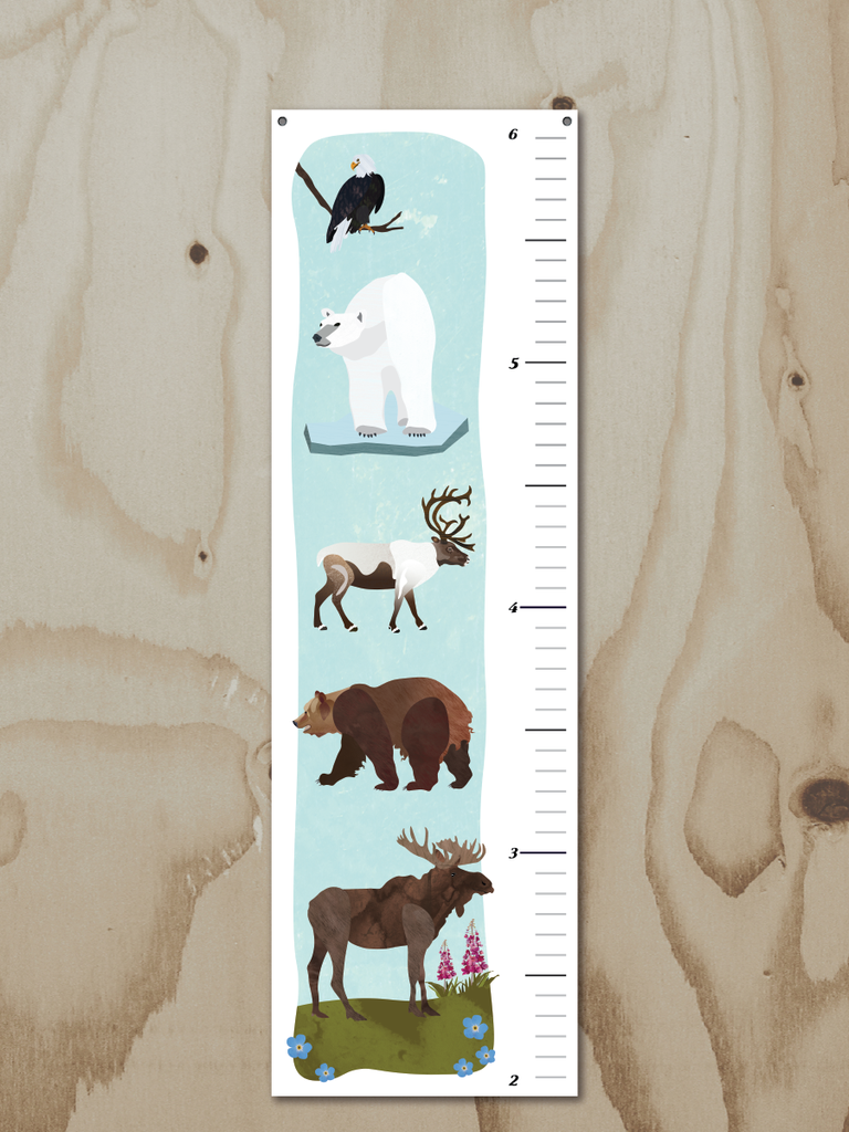 Wren and the Raven Alaskan A to Z Growth Chart