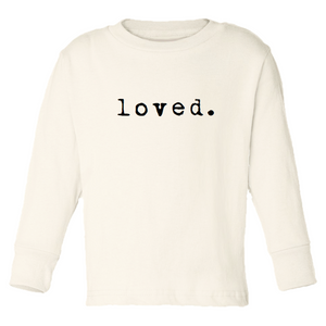 Tenth and Pine loved. - Organic Long Sleeve Tee