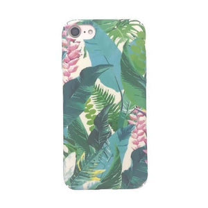 Elegant Plant Design iPhone Case