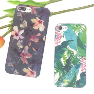 Elegant Plant Design iPhone Case-Case Emporium NZ