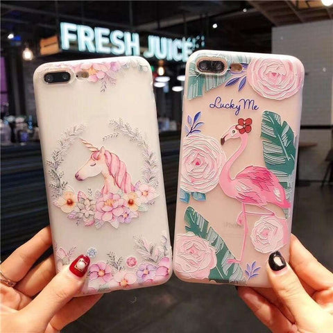 Flamingo, Unicorn And Deer iPhone Cases-Case Emporium NZ