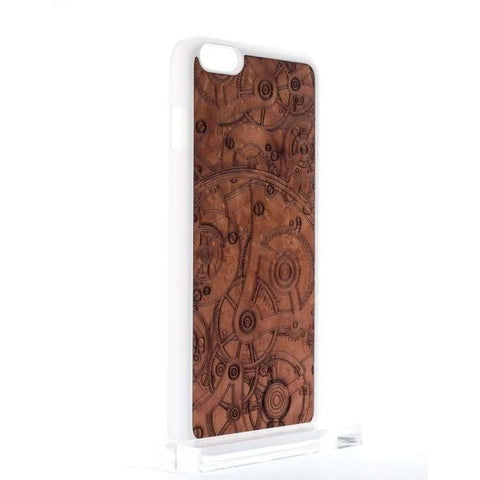 Handcrafted Madrona Burl Wood Mechanism iPhone and Samsung Case-Case Emporium NZ