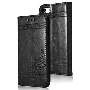 Leather Flip Phone Case