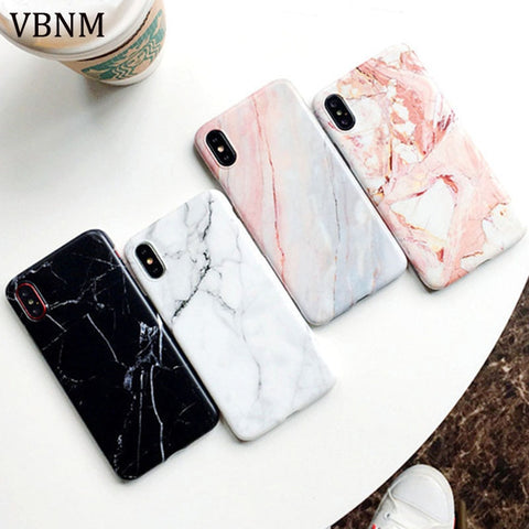 Marble Hard Phone Case for iPhone