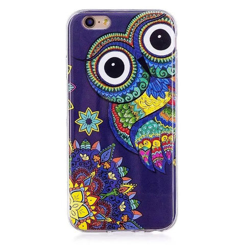 Image of Glow in the Dark Quirky Case For iPhone 6/6s