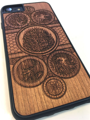Handcrafted Game of Thrones Case