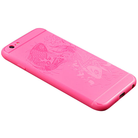 Fish Print Shockproof iPhone Case